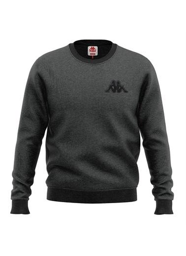 Kappa Erkek Sweatshirt Bıbıst  Füme